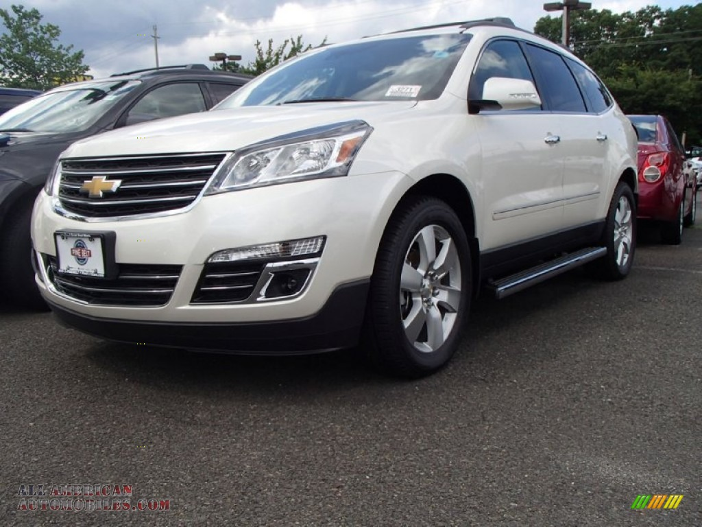 Pine Belt Chevy >> 2015 Chevrolet Traverse LTZ AWD in White Diamond Tricoat - 105221 | All American Automobiles ...