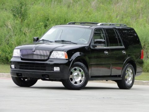 Black 2006 Lincoln Navigator Ultimate