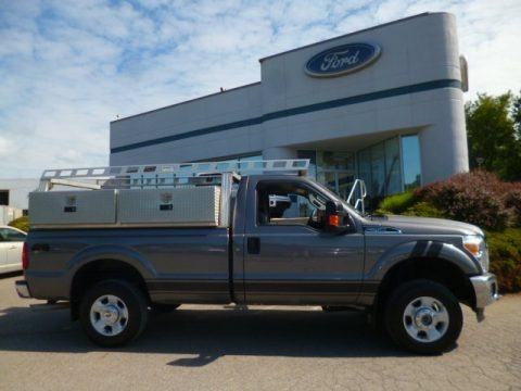 Sterling Grey Metallic 2011 Ford F250 Super Duty XLT Regular Cab 4x4