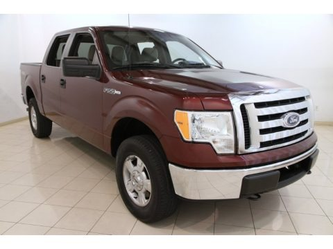 Royal Red Metallic 2010 Ford F150 XLT SuperCrew 4x4