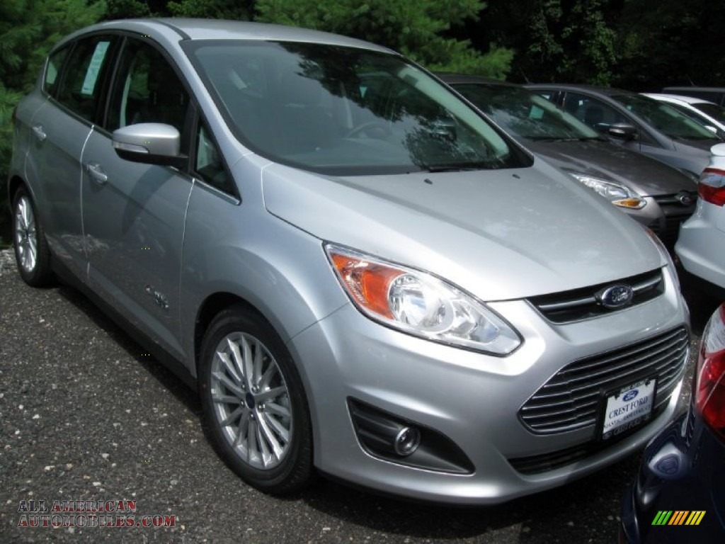 2014 ford c max energi in ingot silver 512557 all american automobiles buy american cars. Black Bedroom Furniture Sets. Home Design Ideas
