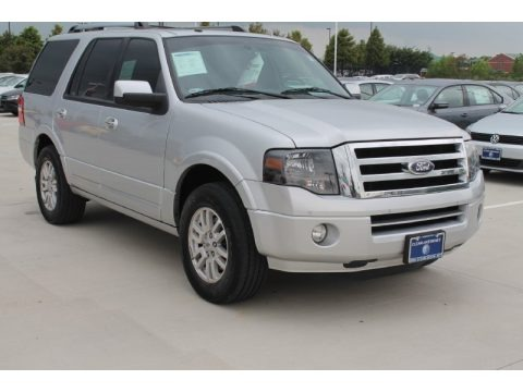 Ingot Silver Metallic 2012 Ford Expedition Limited