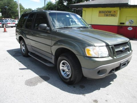Estate Green Metallic 2003 Ford Explorer Sport XLT 4x4