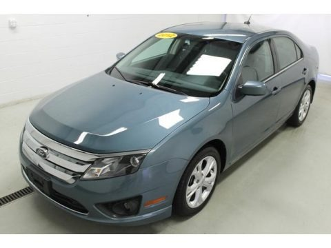Steel Blue Metallic 2012 Ford Fusion SE