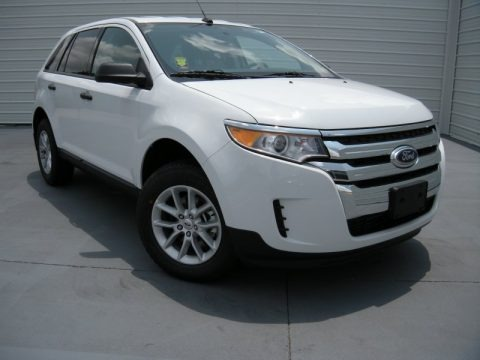 Oxford White 2014 Ford Edge SE