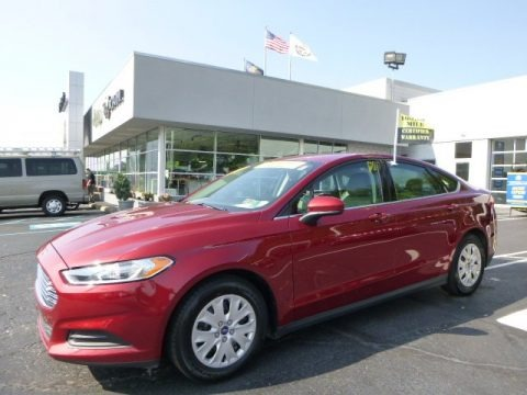 Ruby Red Metallic 2013 Ford Fusion S