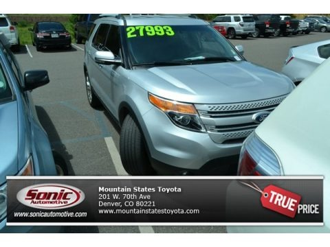 Ingot Silver Metallic 2011 Ford Explorer Limited