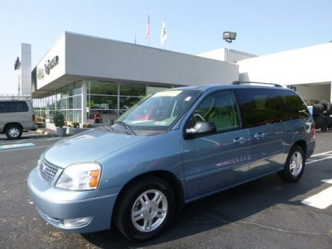 Windveil Blue Metallic 2007 Ford Freestar SEL