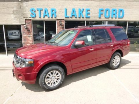 Ruby Red 2014 Ford Expedition Limited 4x4
