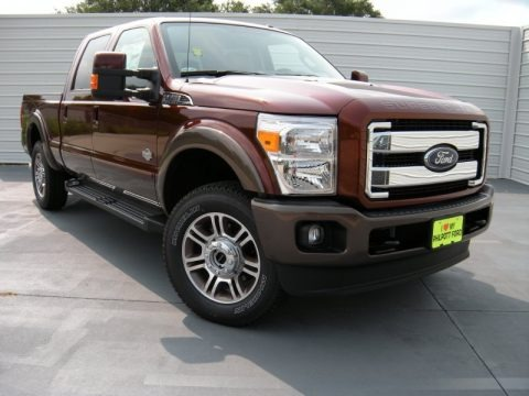 Bronze Fire 2015 Ford F250 Super Duty King Ranch Crew Cab 4x4