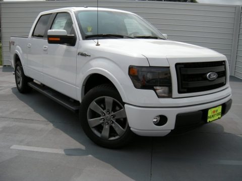Oxford White 2014 Ford F150 FX2 SuperCrew