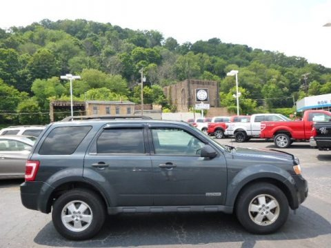 Tungsten Grey Metallic 2008 Ford Escape XLT 4WD