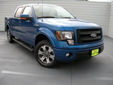 Blue Flame 2014 Ford F150 FX2 SuperCrew