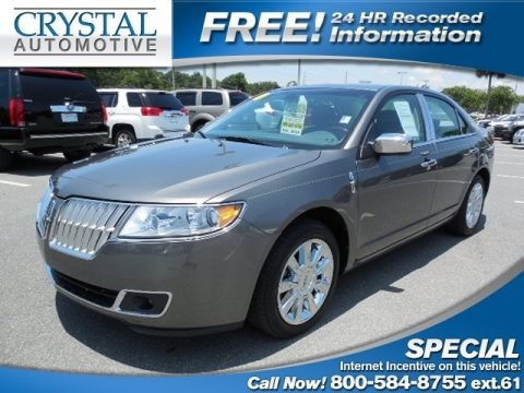 Sterling Gray Metallic 2010 Lincoln MKZ FWD