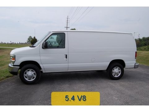 Oxford White 2011 Ford E Series Van E250 Commercial