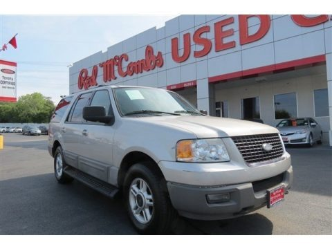 Silver Birch Metallic 2003 Ford Expedition XLT 4x4