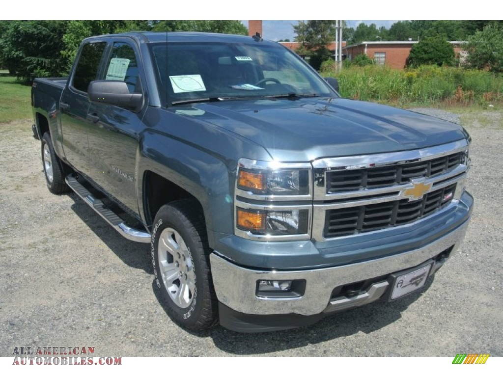 2014 chevrolet silverado 1500 lt z71 crew cab 4x4 in blue granite metallic 396003 all. Black Bedroom Furniture Sets. Home Design Ideas