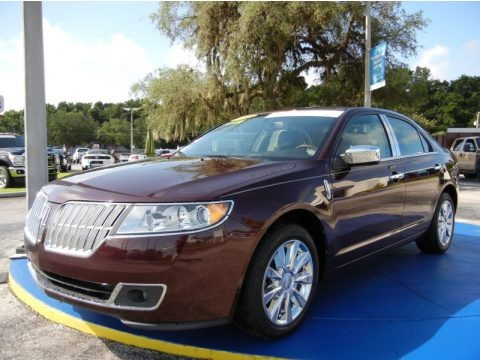 Bordeaux Reserve Metallic 2011 Lincoln MKZ FWD