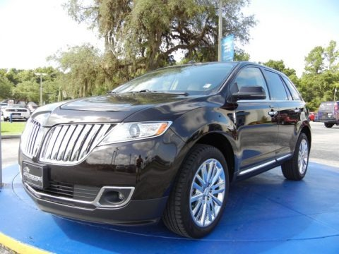 Kodiak Brown 2013 Lincoln MKX FWD