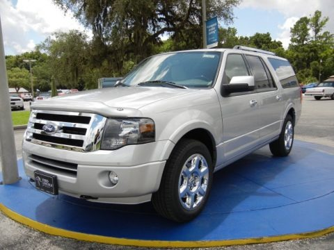 Ingot Silver 2014 Ford Expedition EL Limited 4x4