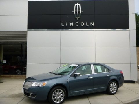 Steel Blue Metallic 2012 Lincoln MKZ AWD