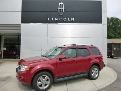Sangria Red Metallic 2011 Ford Escape Limited V6 4WD
