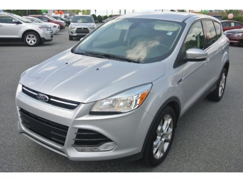 Ingot Silver Metallic 2013 Ford Escape SEL 1.6L EcoBoost