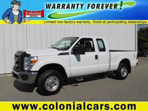 Oxford White 2012 Ford F250 Super Duty XL SuperCab 4x4