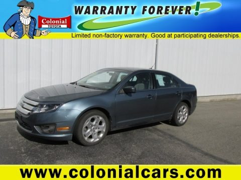 Steel Blue Metallic 2011 Ford Fusion SE