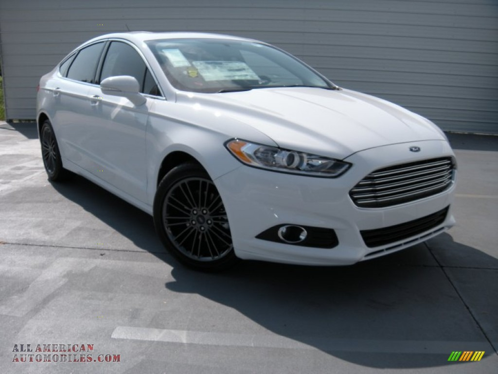 2014 ford fusion se ecoboost in oxford white 377519 all american automobiles buy american. Black Bedroom Furniture Sets. Home Design Ideas