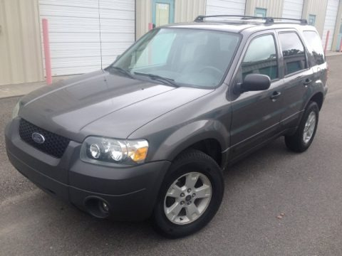 Dark Shadow Grey Metallic 2006 Ford Escape XLT V6