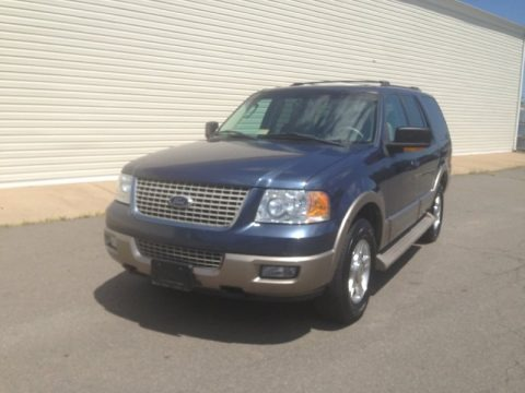 Medium Wedgewood Blue Metallic 2003 Ford Expedition Eddie Bauer 4x4