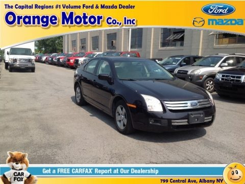 Black 2007 Ford Fusion SE V6 AWD