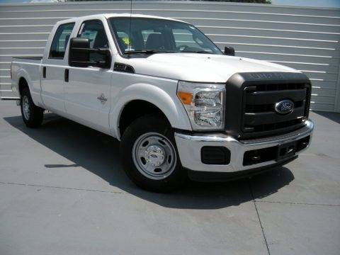 Oxford White 2015 Ford F250 Super Duty XL Crew Cab