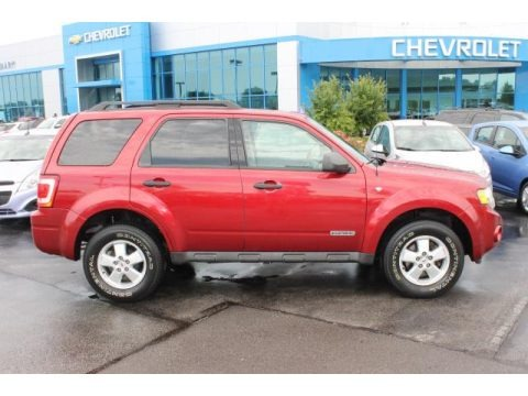 Redfire Metallic 2008 Ford Escape XLT V6 4WD