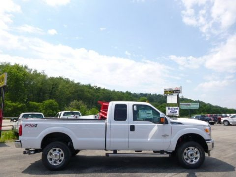 Oxford White 2015 Ford F250 Super Duty XLT Super Cab 4x4