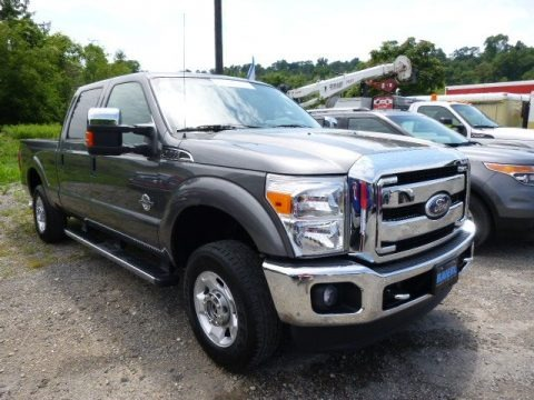 Sterling Grey Metallic 2011 Ford F250 Super Duty XLT Crew Cab 4x4