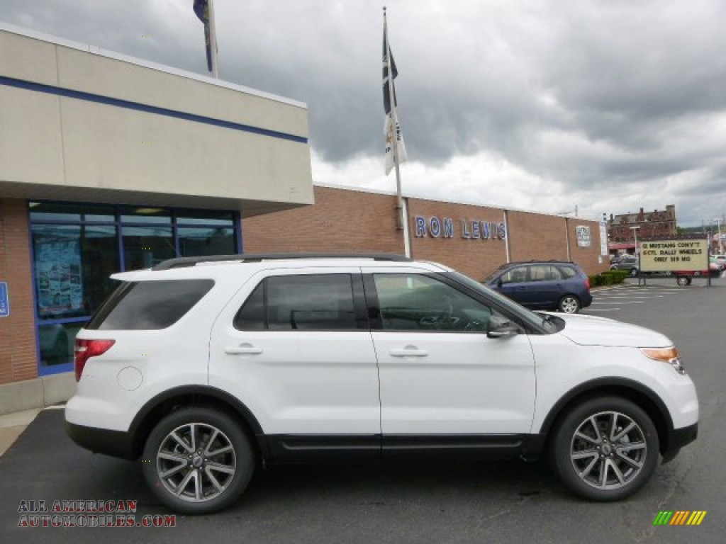 2015 ford explorer xlt 4wd in oxford white a25697 all american automobiles buy american. Black Bedroom Furniture Sets. Home Design Ideas