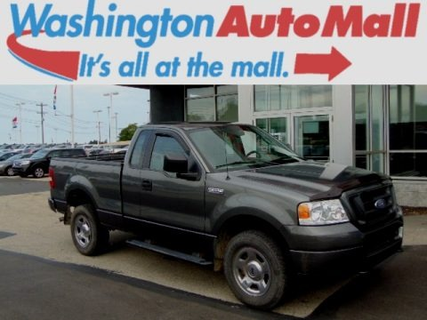 Dark Shadow Grey Metallic 2005 Ford F150 STX Regular Cab 4x4