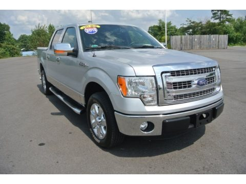Ingot Silver Metallic 2013 Ford F150 XLT SuperCrew