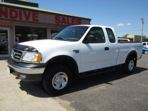 Oxford White 2003 Ford F150 XL SuperCab 4x4