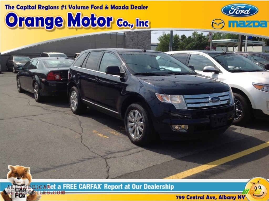 2010 ford edge limited awd in dark ink blue metallic for Orange motors albany new york