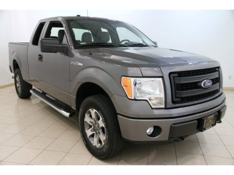 Sterling Gray Metallic 2013 Ford F150 STX SuperCab 4x4