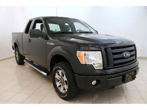 Tuxedo Black Metallic 2012 Ford F150 STX SuperCab 4x4