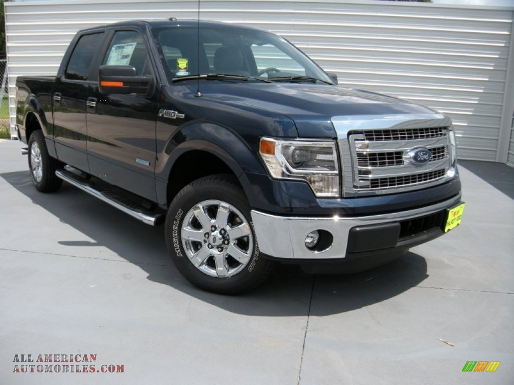 2014 ford f150 xlt supercrew in blue jeans e96649 all american automobiles buy american. Black Bedroom Furniture Sets. Home Design Ideas