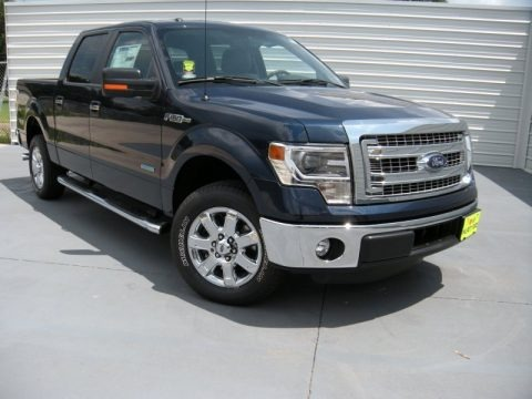 Blue Jeans 2014 Ford F150 XLT SuperCrew