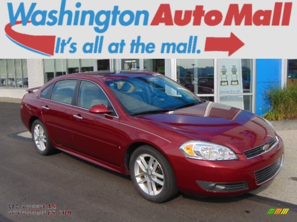 2009 chevrolet impala ltz in red jewel tintcoat 160236. Black Bedroom Furniture Sets. Home Design Ideas