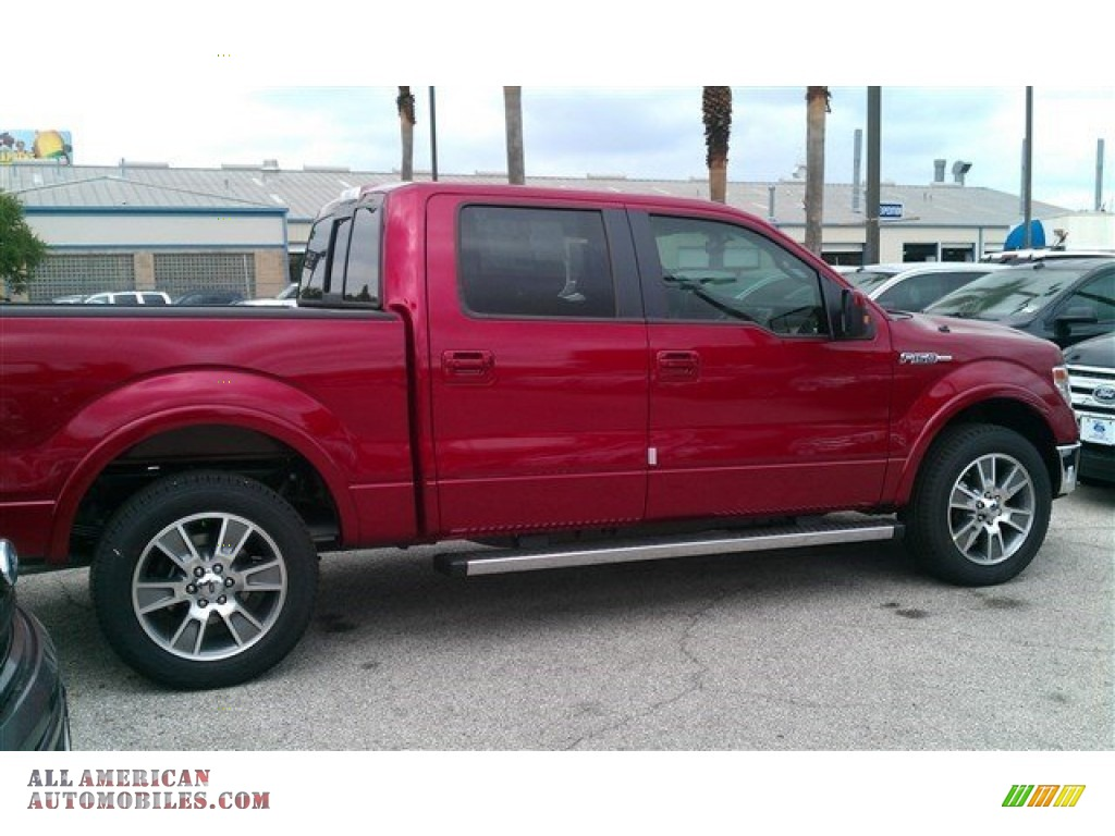 2014 ford f150 lariat supercrew in ruby red c69152 all american automobiles buy american. Black Bedroom Furniture Sets. Home Design Ideas