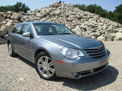 Silver Steel Metallic 2008 Chrysler Sebring Limited Sedan