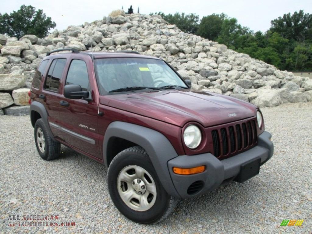 Holman Motors Batavia Ohio >> 2002 Jeep Liberty Sport 4x4 in Dark Garnet Red Pearlcoat - 269259 | All American Automobiles ...